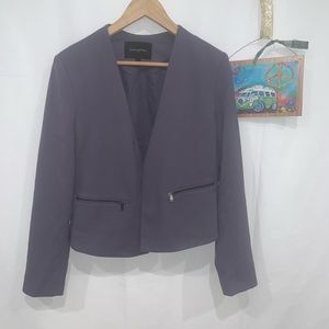Banana republic lavender open blazer jacket